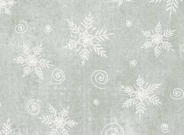 Light Grey Snowflakes